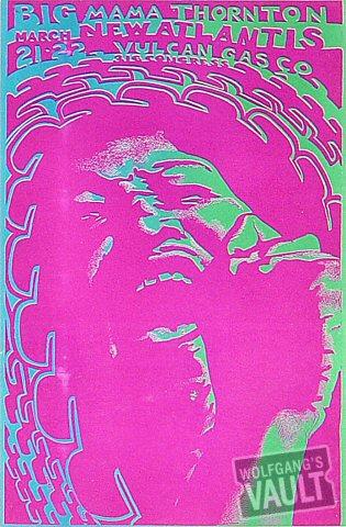 Big Mama Thornton Handbill