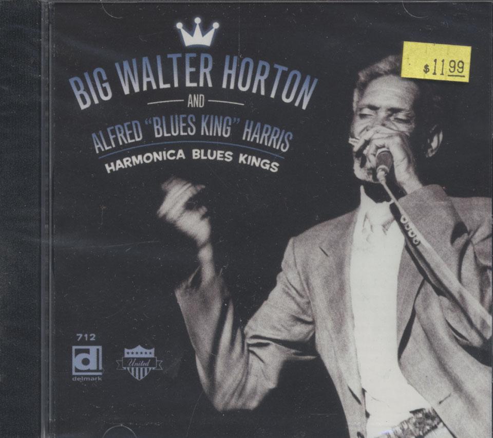 "Big Walter Horton and Alfred ""Blues King"" Harris CD"