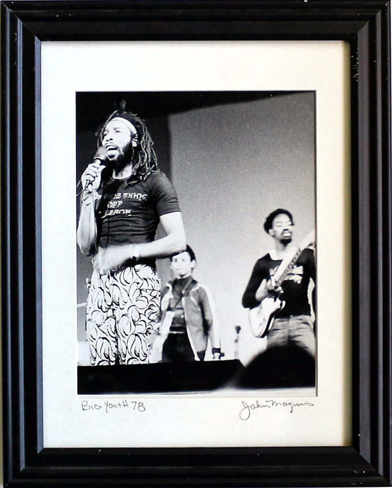 Big Youth Framed Vintage Print