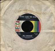"""Bill Anderson Vinyl 7"""" (Used)"""