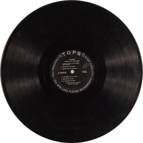 """Bill Arnold And His Rangers Vinyl 12"""" (Used)"""