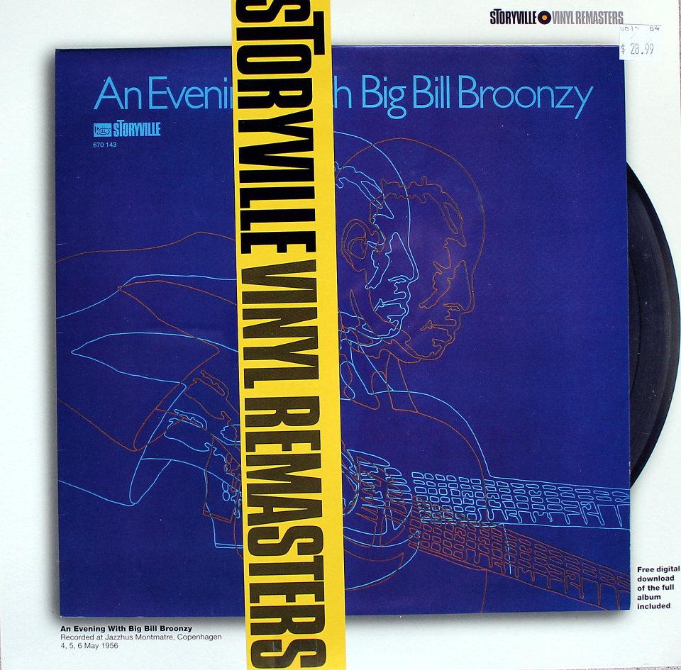 "Bill Broonzy Vinyl 12"" (New)"