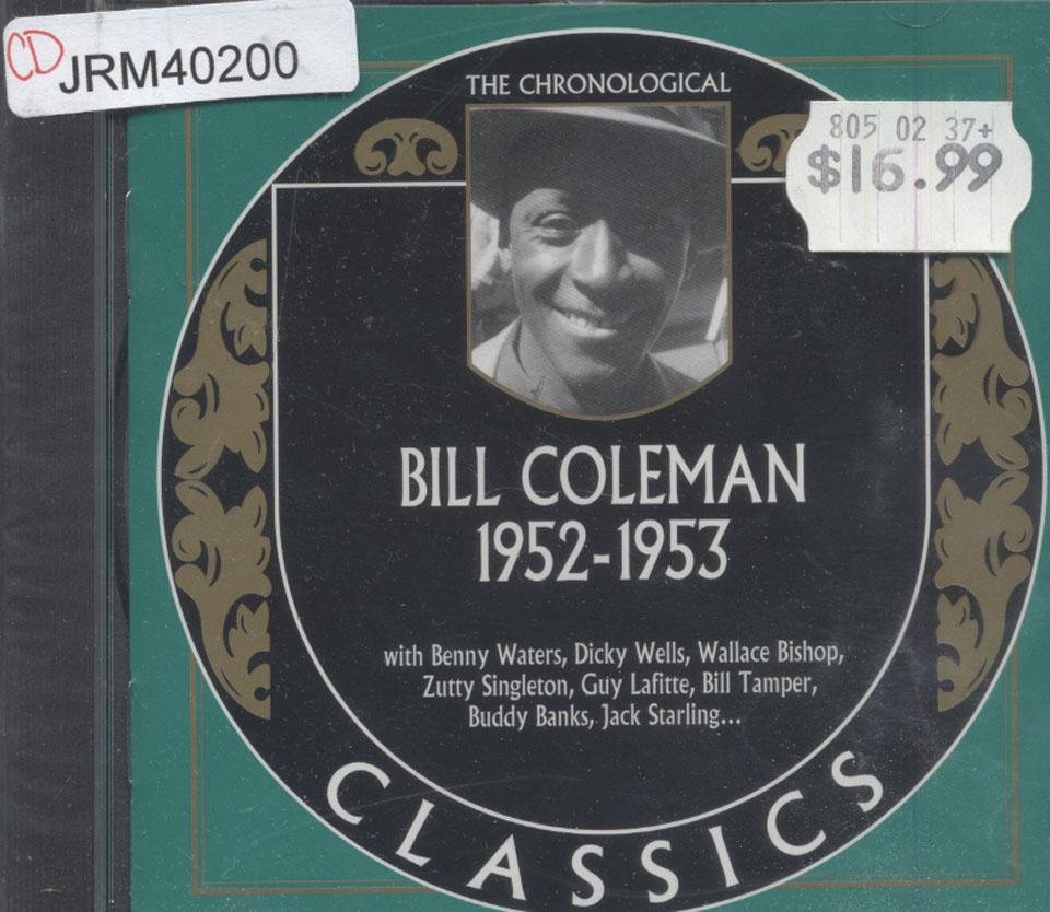 Bill Coleman CD