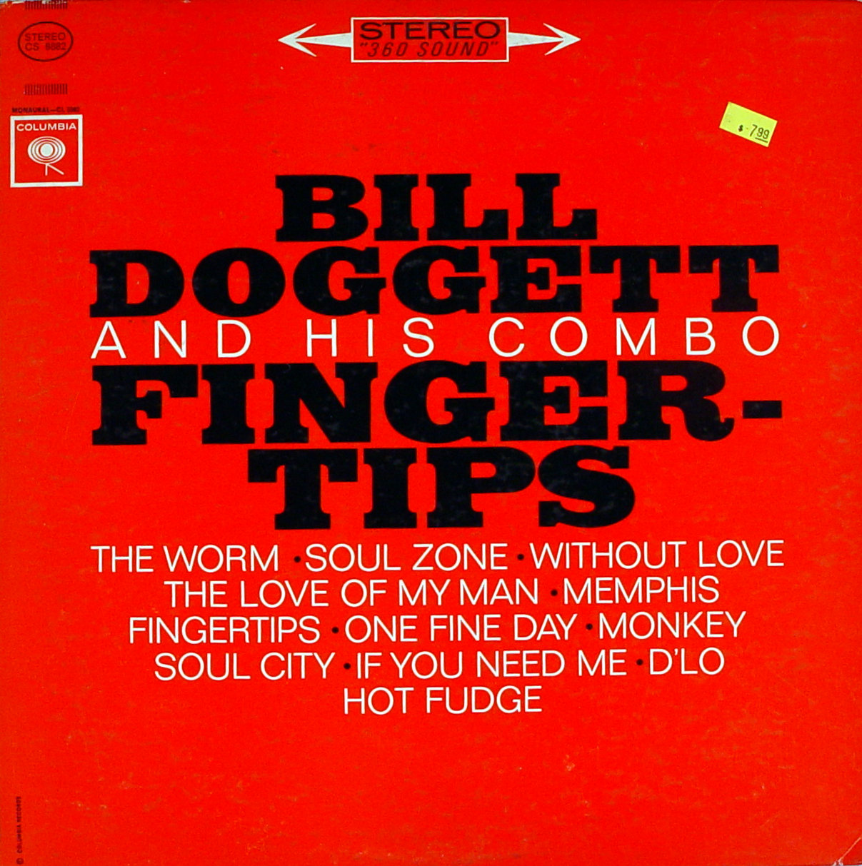 """Bill Doggett and His Combo Vinyl 12"""" (Used)"""