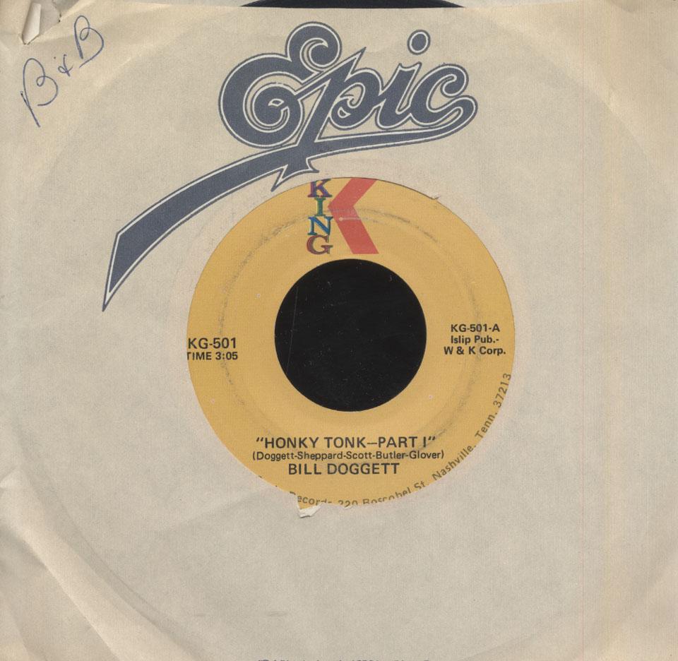 """Bill Doggett Vinyl 7"""" (Used)"""