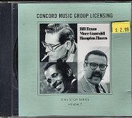 Bill Evans / Vince Guaraldi / Hampton Hawes CD