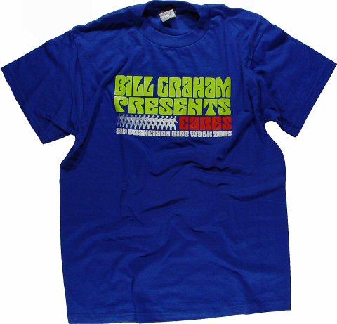 Bill Graham Presents Cares: SF AIDS Walk Men's Vintage T-Shirt