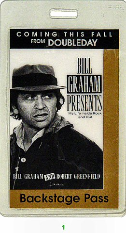 Bill Graham Presents: My Life Inside Rock and Out Laminate
