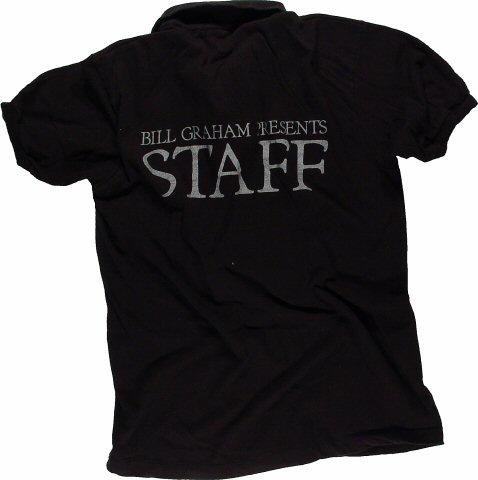 Bill Graham Presents Men's Vintage T-Shirt reverse side