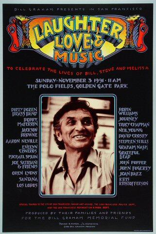 Bill Graham Poster