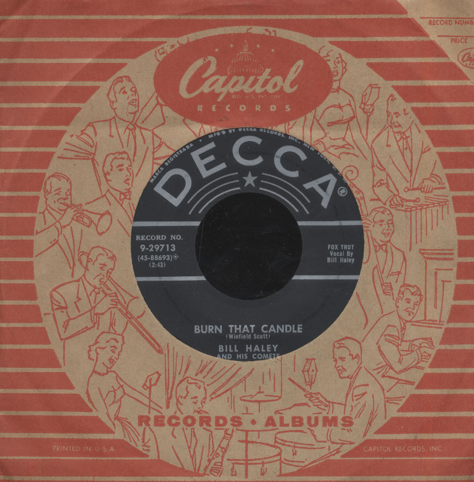 "Bill Haley and His Comets Vinyl 7"" (Used)"