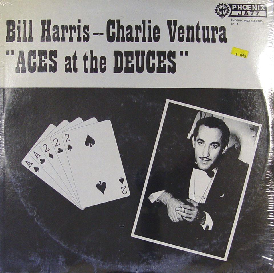 """Bill Harris - Charlie Ventura Vinyl 12"""" (New)"""