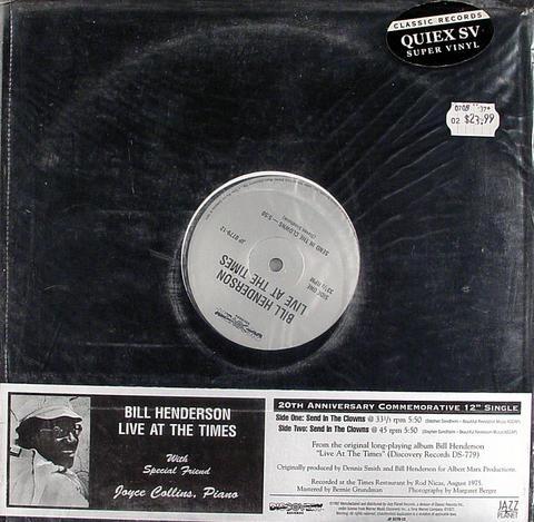 """Bill Henderson Vinyl 12"""" (New)"""