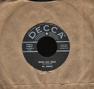 "Bill Monroe Vinyl 7"" (Used)"
