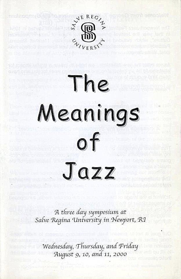 Billie Holiday Program