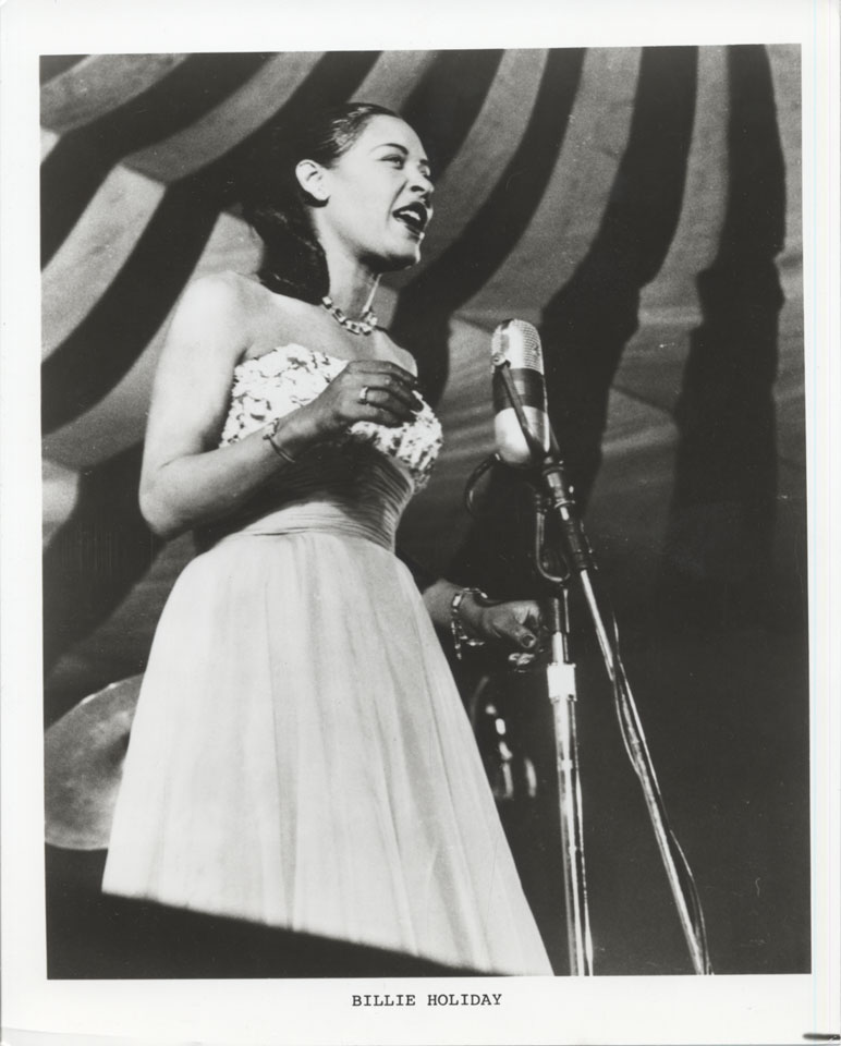 Billie Holiday Vintage Print