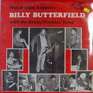 "Billy Butterfield With The Benny Simkins' Band Vinyl 12"" (New)"