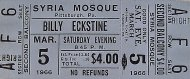 Billy Eckstine Vintage Ticket