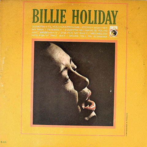 "Billy Holiday Vinyl 12"" (Used)"