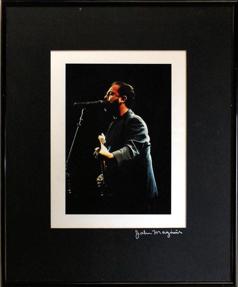 Billy Joel Framed Vintage Print