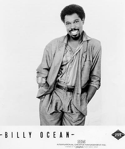 Billy Ocean Promo Print