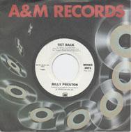 """Billy Preston Vinyl 7"""" (Used)"""