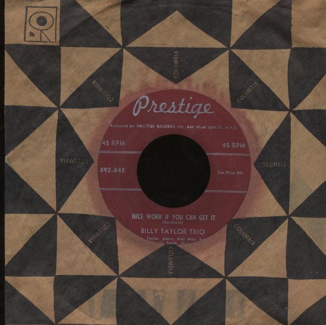 "Billy Taylor Trio Vinyl 7"" (Used)"