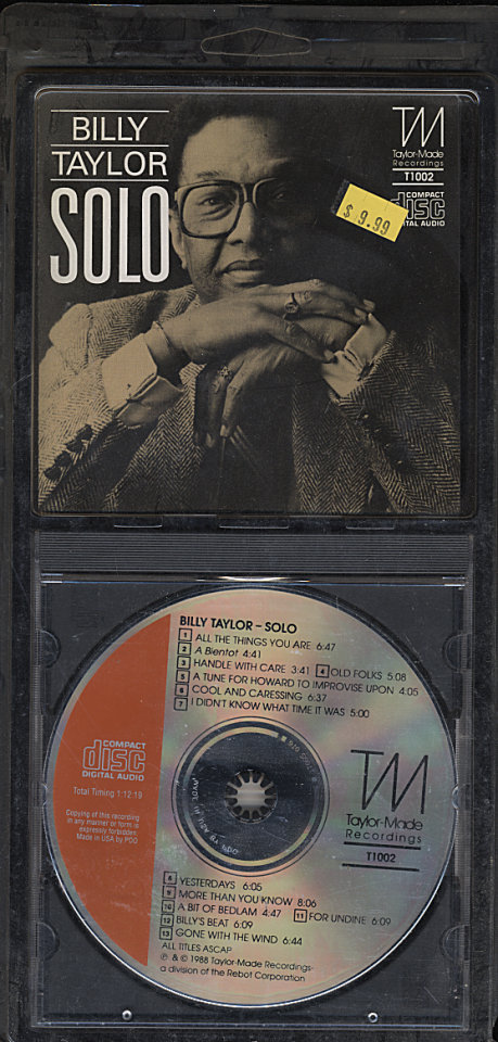Billy Taylor CD