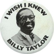 Billy Taylor Pin