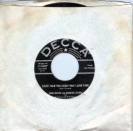 """Bing Crosby and Andrews Sisters Vinyl 7"""" (Used)"""