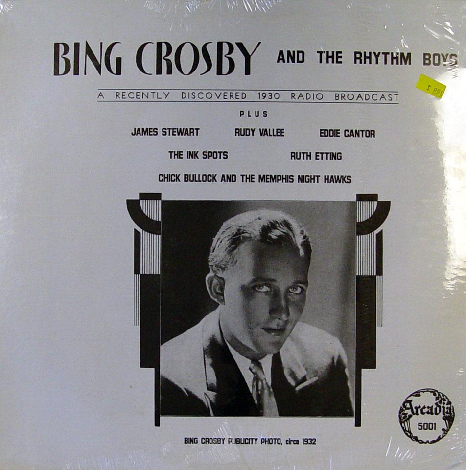 """Bing Crosby And The Rhythm Boys Vinyl 12"""" (New)"""