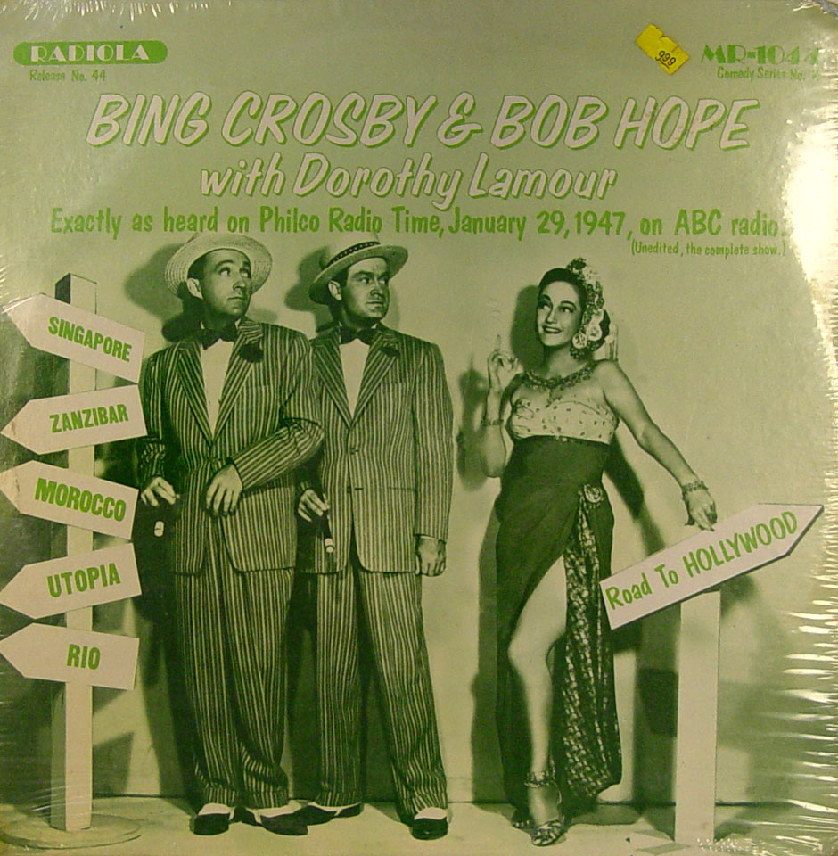 "Bing Crosby / Bob Hope Vinyl 12"" (New)"