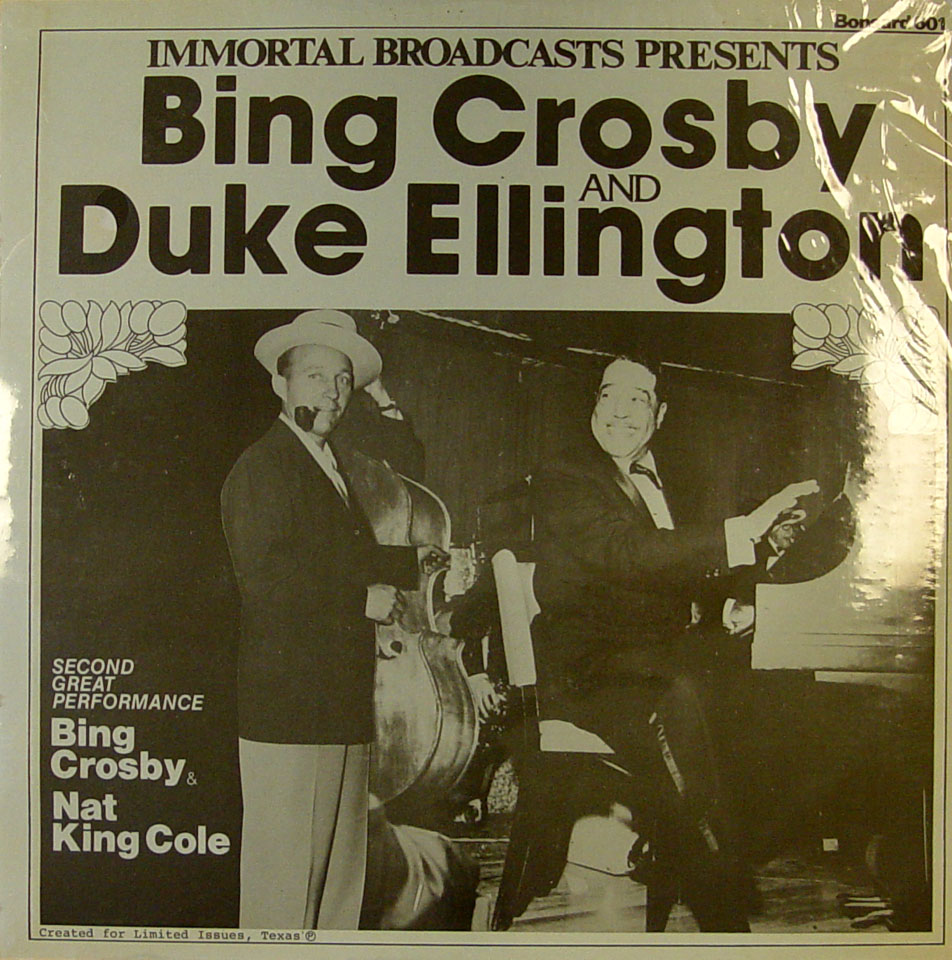 "Bing Crosby / Duke Ellington / Nat King Cole Vinyl 12"" (New)"