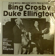 "Bing Crosby / Duke Ellington / Nat King Cole Vinyl 12"" (New)"
