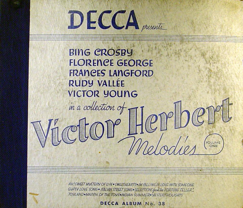 Bing Crosby 78 1932 At Wolfgangs