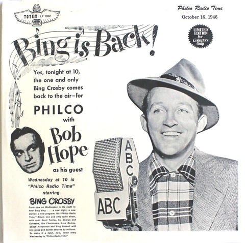 "Bing Crosby Vinyl 12"" (New)"