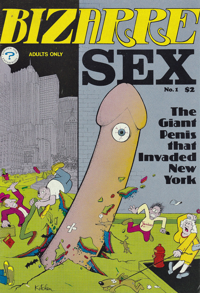 Cartoon sex comic books
