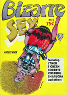 Bizarre Sex No. 3 Comic Book