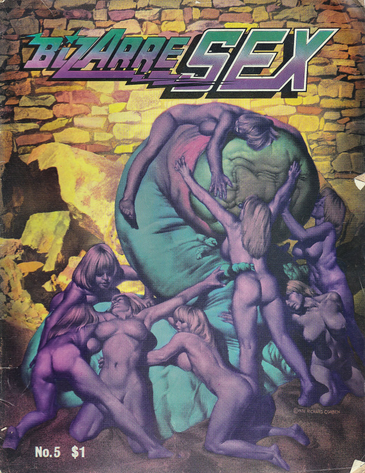 Bizarre Sex No. 5 Comic Book