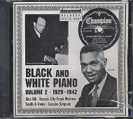 Black And White Piano CD