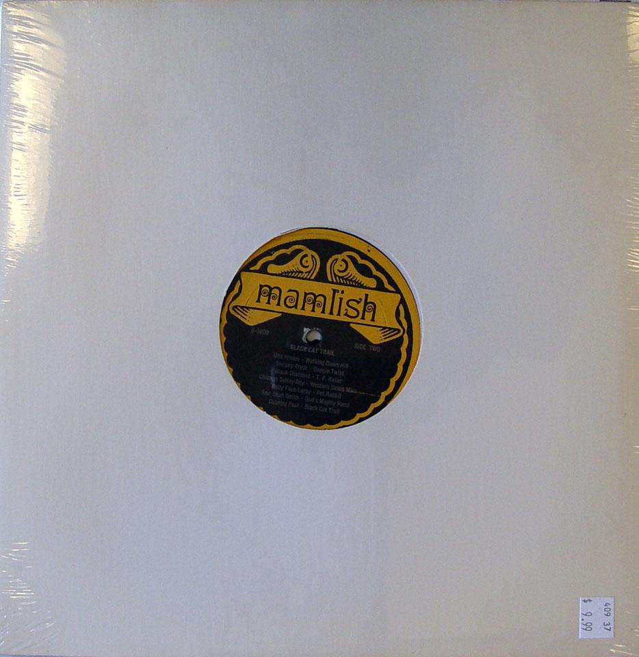 "Black Cat Trail Vinyl 12"" (New)"