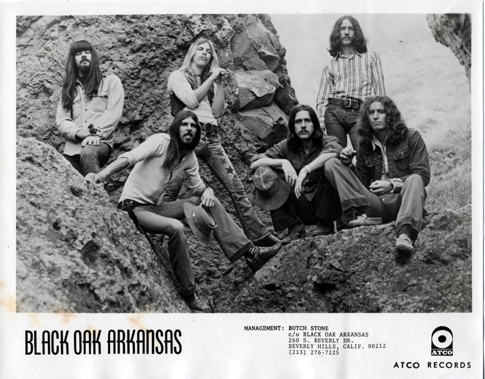 Black Oak Arkansas Promo Print