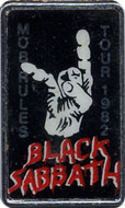Black Sabbath Pin