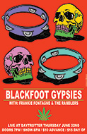 Blackfoot Gypsies Poster