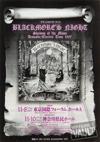 Blackmore's Night Handbill