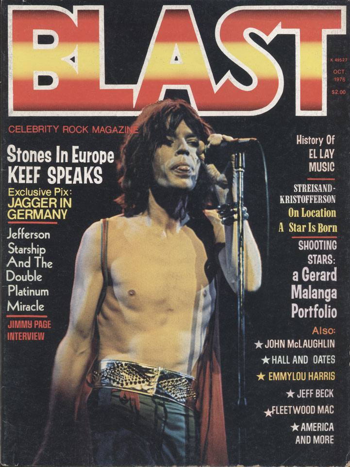 Blast: Celebrity Rock Magazine Vol. 1 No. 2