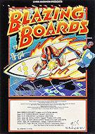 Blazing Boards Handbill