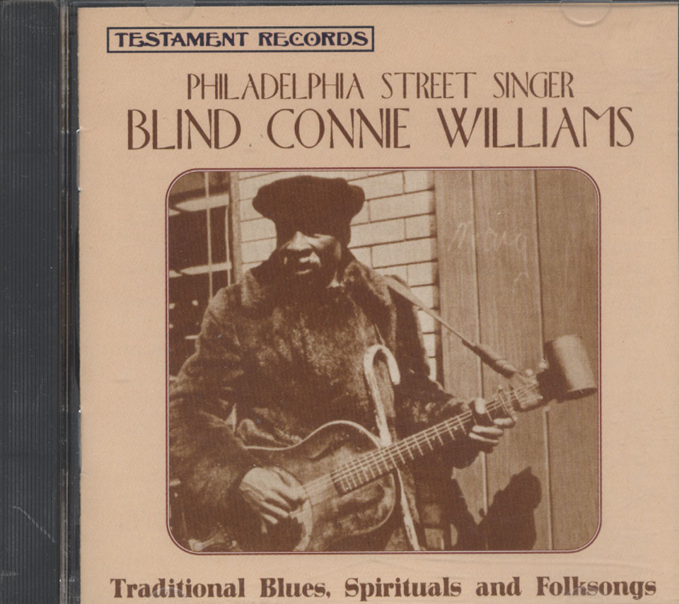 Blind Connie Williams CD