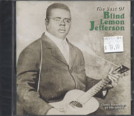 Blind Lemon Jefferson CD