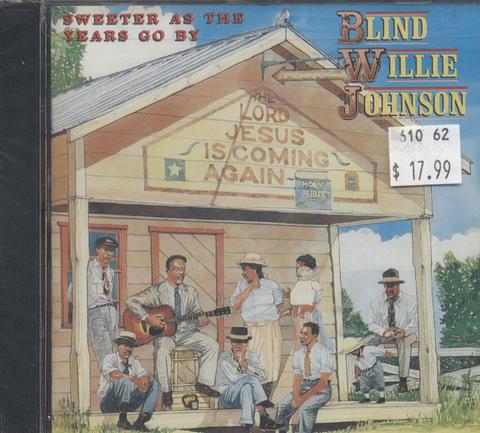Blind Willie Johnson CD